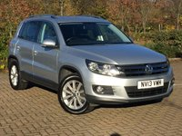 USED 2013 13 VOLKSWAGEN TIGUAN 2.0 SE TDI BLUEMOTION TECHNOLOGY 4MOTION DSG 5d AUTO 138 BHP