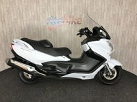 2013 SUZUKI BURGMAN 650 AN 650 ZL3 BURGMAN 650 SCOOTER FSH POWER MIRRORS 2013 13  £3990.00