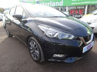 USED 2017 67 NISSAN MICRA 0.9 IG-T ACENTA 5d 89 BHP 1 OWNER....NEW MODEL NISSAN MICRA....£0 DEPOSIT FINANCE AVAILABLE...CALL 01543 877320