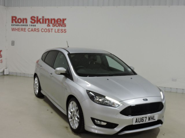 View our 2017 67 FORD FOCUS 1.0 ST-LINE 5d 124 BHP