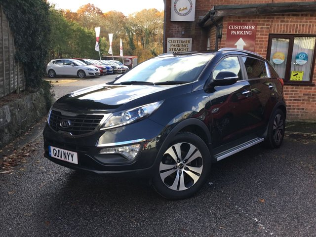 2011 11 KIA SPORTAGE 2.0 FIRST EDITION 5d 160 BHP