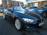 2015 BMW 4 SERIES 2.0 420D LUXURY 2d AUTO 188 BHP £19494.00