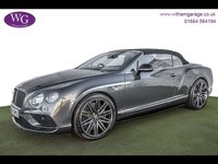 USED 2016 66 BENTLEY CONTINENTAL GTC 4.0 GTC V8 S MDS 2d AUTO 521 BHP