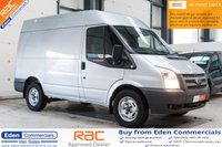 2013 FORD TRANSIT 2.2 330 124 BHP *RACKING + AIR CON + CRUISE CONTROL* £8500.00
