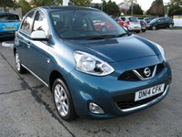 2014 NISSAN MICRA 1.2 LIMITED EDITION 5d 79 BHP £5995.00