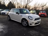 2008 MINI HATCH COOPER 1.6 COOPER 3d  LOW MILEAGE WITH SERVICE HISTORY £3500.00