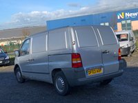 USED 2003 03 MERCEDES-BENZ VITO 2.2 110 CDI SWB  SWB, LAST OWNER SINCE 2005, PX JUST ARRIVED, BARGAIN