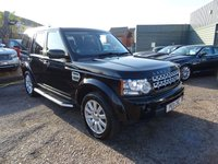 2011 LAND ROVER DISCOVERY 3.0 4 TDV6 HSE 5d AUTO 245 BHP £16990.00