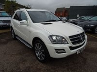 2011 MERCEDES-BENZ ML 350 ML350 CDI BLUEEFFICIENCY GRAND EDITION £15840.00