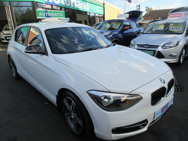 USED 2012 12 BMW 1 SERIES 1.6 116I SPORT 5d AUTO 135 BHP **FULL SERVICE HISTORY..JUST ARRIVED..BUY NOW PAY LATER FINANCE AVAILABLE..