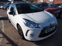 2014 CITROEN DS3 1.6 DSTYLE PLUS 3d 120 BHP £6495.00