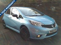 USED 2014 64 NISSAN NOTE 1.2 TEKNA STYLE DIG-S 5d 98 BHP