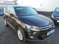 2011 VOLKSWAGEN TIGUAN 2.0 SE TDI BLUEMOTION TECHNOLOGY 4MOTION 5d 138 BHP £11495.00