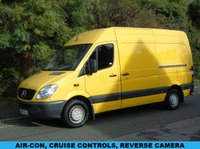 2013 MERCEDES-BENZ SPRINTER 2.1 313 CDI 129 BHP MWB HIGH ROOF PANEL VAN £SOLD