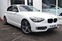 2014 BMW 1 SERIES 1.6 114D SPORT 5d 94 BHP £9795.00