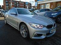 2014 BMW 4 SERIES 2.0 420D XDRIVE M SPORT 2d AUTO 181 BHP £18494.00