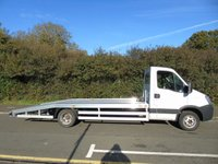 USED 2011 11 IVECO DAILY 50C14 3.0TD 140 BHP 5 TONNE 17FT AMS BEAVERTAIL CAR TRANSPORTER RECOVERY TRUCK +BRAND NEW AMS BODY+1 OWNER