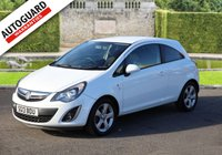 USED 2013 13 VAUXHALL CORSA 1.2 SXI AC 3d 83 BHP Finance options available