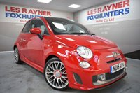 USED 2016 11 ABARTH 500 1.4 595 TURISMO MTA 3d AUTO 158 BHP Rear Park sensors, Air con , Full Leather , electric sunroof