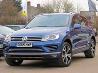2015 VOLKSWAGEN TOUAREG 3.0 V6 R-LINE TDI BLUEMOTION TECHNOLOGY 5d AUTO 259 BHP £24990.00