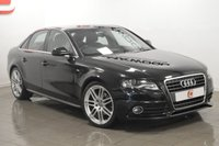 USED 2010 10 AUDI A4 2.0 TDI S LINE SPECIAL EDITION 4d 140 BHP 19 INCH ALLOYS + 1 OWNER + ONLY 50K + FULL HISTORY