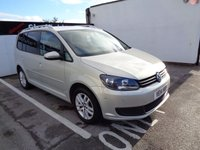 2014 VOLKSWAGEN TOURAN 1.6 SE TDI BLUEMOTION TECHNOLOGY 5d 103 BHP £9975.00