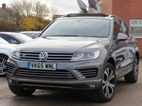 2015 VOLKSWAGEN TOUAREG 3.0 V6 R-LINE TDI BLUEMOTION TECHNOLOGY 5d AUTO 259 BHP