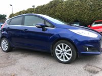 2015 FORD FIESTA 1.0 TITANIUM 5d AUTOMATIC WITH SAT NAV AND REVERSING CAMERA  £8500.00
