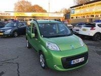 2009 FIAT QUBO 1.2 MULTIJET DYNAMIC 5 DOOR 75 BHP IN METALLIC GREEN WITH ONLY 80000 MILES. £3499.00