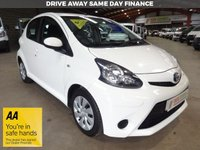 "USED 2014 14 TOYOTA AYGO 1.0 VVT-I MOVE 5d 68 BHP-LOW MILEAGE-AIRCON-SAT NAV-BLUETOOTH ""YOU'RE IN SAFE HANDS"" - AA DEALER PROMISE"