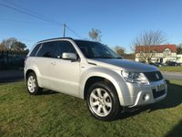 USED 2010 10 SUZUKI GRAND VITARA 1.9 SZ5 DDIS 5 DOOR 87000 MILES FULL HISTORY HEATED BLACK LEATHER