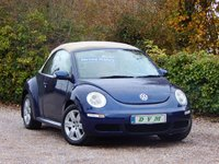 USED 2008 08 VOLKSWAGEN BEETLE 1.6 LUNA 8V 2d 101 BHP FULL SERVICE HISTORY, NEW MOT ON PURCHASE, FINANCE AVAILABLE