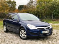 USED 2007 07 VAUXHALL ASTRA 1.8 CLUB 5d 140 BHP
