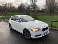 2013 BMW 1 SERIES 1.6 116D EFFICIENTDYNAMICS 5d 114 BHP £7990.00
