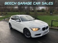 2013 BMW 1 SERIES 1.6 116D EFFICIENTDYNAMICS 5d 114 BHP £8250.00