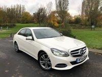 2014 MERCEDES-BENZ E CLASS 2.1 E250 CDI SE 4d AUTO 202 BHP £13250.00