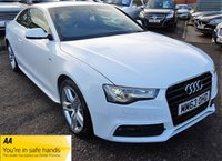 USED 2014 63 AUDI A5 1.8 TFSI S LINE 2d 168 BHP DIGITAL AUDI SERVICE HISTORY  1 PREVIOUS KEEPER LEATHER TRIM