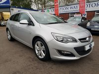 USED 2012 62 VAUXHALL ASTRA 1.7 SRI CDTI 5d 130 BHP 0%  FINANCE AVAILABLE ON THIS CAR PLEASE CALL 01204 317705