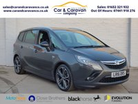 USED 2016 16 VAUXHALL ZAFIRA TOURER 2.0 SRI CDTI S/S 5d 168 BHP Full Service History NAV DAB Buy Now, Pay Later Finance!