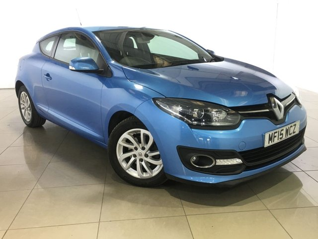 View our 2015 15 RENAULT MEGANE 1.5 DYNAMIQUE TOMTOM ENERGY DCI S/S 3d 110 BHP