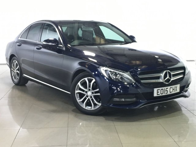 View our 2015 15 MERCEDES-BENZ C CLASS 2.1 C220 BLUETEC SPORT 4d 170 BHP