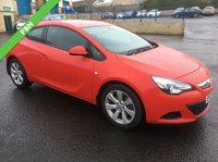 USED 2012 VAUXHALL ASTRA 1.4 GTC SPORT S/S 3d 118 BHP