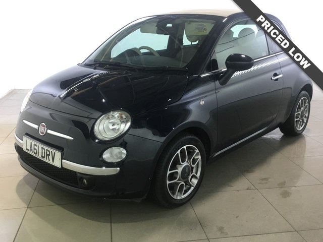 View our 2011 61 FIAT 500 0.9 C LOUNGE DUALOGIC 3d AUTO 85 BHP