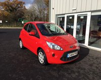 USED 2014 64 FORD KA 1.2 EDGE  THIS VEHICLE IS AT SITE 2 - TO VIEW CALL US ON 01903 323333