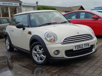 2012 MINI HATCH ONE 1.6 ONE D 3d 90 BHP £5499.00