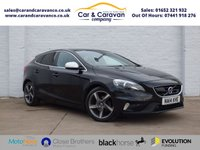 USED 2014 14 VOLVO V40 1.6 D2 R-DESIGN LUX NAV 5d 113 BHP Full Service History Huge Spec Buy Now, Pay Later!