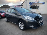 USED 2014 63 PEUGEOT 208 1.4 ACTIVE HDI 5d 68 BHP 20154 miles, Bluetooth, Touch Screen, 12 Months MOT!