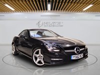USED 2013 62 MERCEDES-BENZ SLK 2.1 SLK250 CDI BLUEEFFICIENCY AMG SPORT 2d AUTO 204 BHP +  Leather Interior