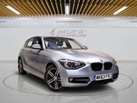 USED 2013 63 BMW 1 SERIES 2.0 120D SPORT 5d 181 BHP +  AIR CON + AUX + BLUETOOTH