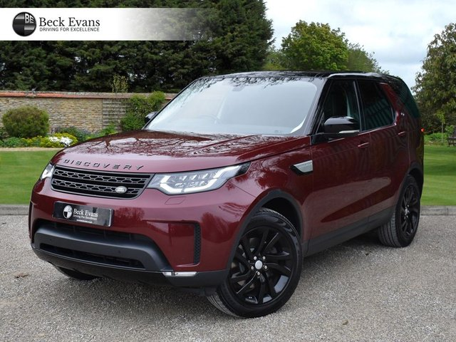 View our LAND ROVER DISCOVERY 5